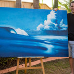 Scott Denholm: An Eco Surf Artist Who Uses Reclaimed Materials