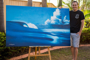 Scott Denholm: An Eco Surf Artist Who Uses Reclaimed Materials