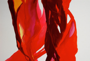 Moving Toward The Light With Fluid Abstract Paintings