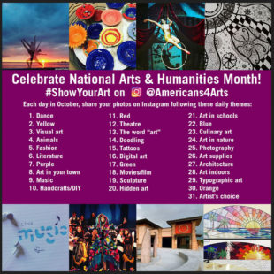 October is An Opportunity to Celebrate National Arts & Humanities