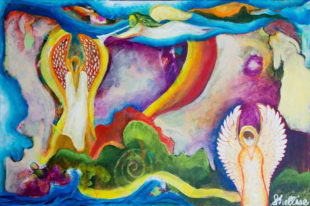 Artist Shellise Berry Uses Prayer and Intuition