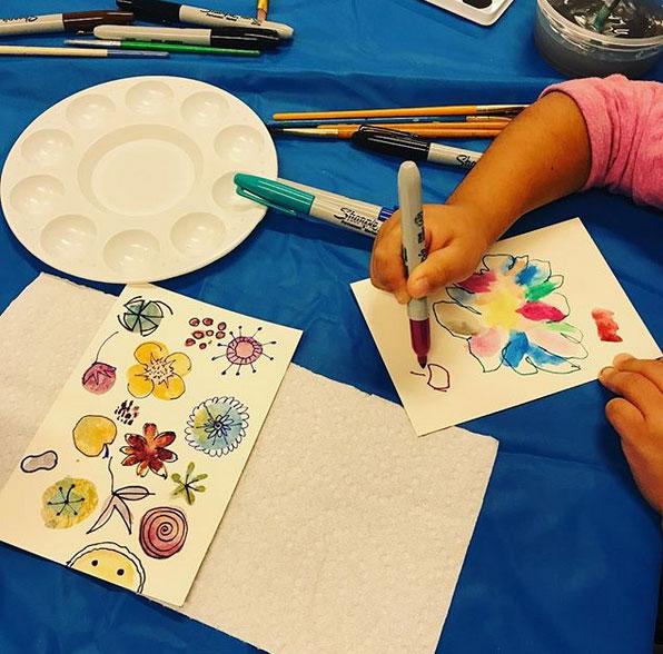 Kids & Art Foundation Provides Free Workshops for Children